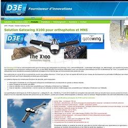 Drone UAV pour orthophotos