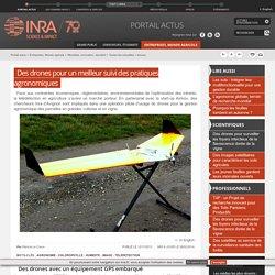 INRA - 2013 - Des drones pour un meilleur suivi des pratiques agronomiques