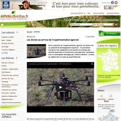 Les drones en agriculture : un outil de mesure pour la recherche