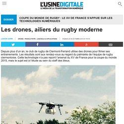 Les drones, ailiers du rugby moderne