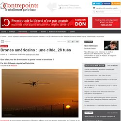 Drones américains : une cible, 28 tués