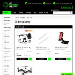 Range of DJI Drones - Best prices in Australia with Same Day delivery