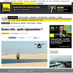 Drones civils : quelle réglementation ?