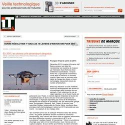 En 2015, les drones civils deviendront ultraprécis