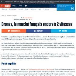 Drones, le marché français encore à 2 vitesses