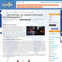 Les drones, un nouvel outil pour les Géographes ?