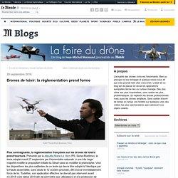 Drones de loisir: la réglementation prend forme