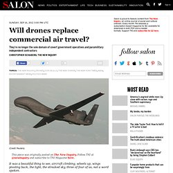 Will drones replace commercial air travel?