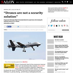 """Drones are not a security solution"""