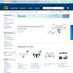 Drones: Sélection de mini drones et de caméras pour drone