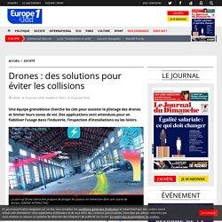 19/01/18 - Drones : des solutions pour éviter les collisions