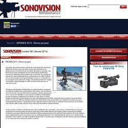 DRONES 2013 - Drone qui peut