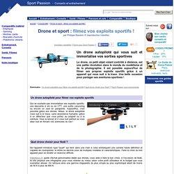Drones et sport : drone autopiloté