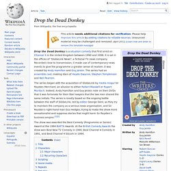 Drop the Dead Donkey - Wikipedia