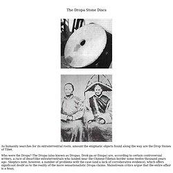 Dropa Stone Discs