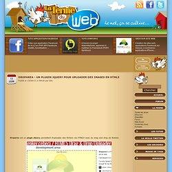 Droparea - Un plugin jQuery pour uploader des images en HTML5