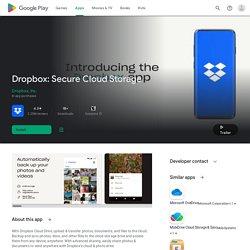 Dropbox - Android Market