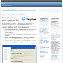 Dropbox naudojimas su .torrent failais at Gru – Mozilla Firefox