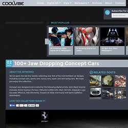 100 Jaw Dropping Concept Cars - Coolvibe.com, Digital Art & Inspiration.