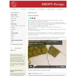 DROPS Instruktionsvideo