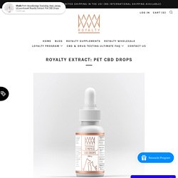 Pet CBD Dropshippers USA