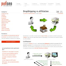 DropShipping vs Affiliation