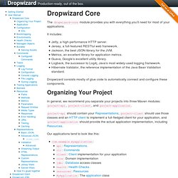 Dropwizard Core