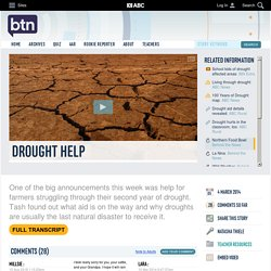 Drought Help: 04/03/2014, Behind the News