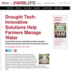 #8 Drought Tech: Innovative Solutions Help Farmers Manage Water