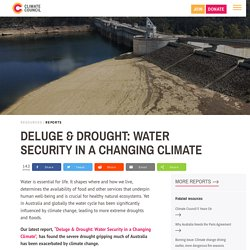 Deluge & Drought: Water Security in a Changing Climate