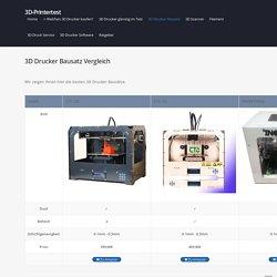 3D Drucker Bausatz im Test & Vergleich 2015