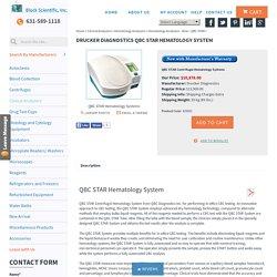 QBC STAR Centrifugal Hematology Analyzer
