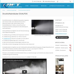 Druckluftzerstäuber zur Luftbefeuchtung für Gewerbe und Industrie