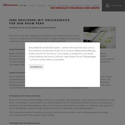 Druckservice für Perg und Umgebung