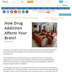 How Drug Addiction Affects Your Brain?