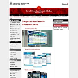 Drugs and New Trends - Awareness Tools
