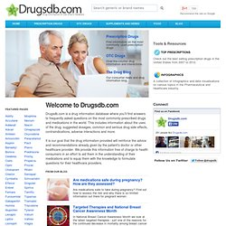 Drugsdb.com - Drug Information & Side Effects Database