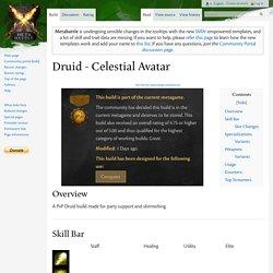 Druid - Celestial Avatar