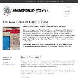 Drum n bass ‹ Drumsallday