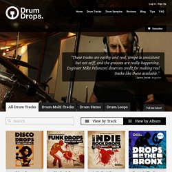 Download Multitrack Drums, Drum Loops & Hit Packs