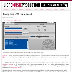 Drumgizmo 0.9.14 is released