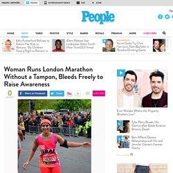 Kiran Gandhi, M.I.A. Drummer, Runs London Marathon Without Tampon
