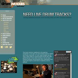 DrumOverdubs.com :: Real Drum Tracks for Your Project