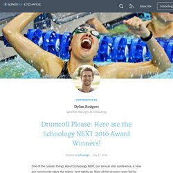 Drumroll Please: Here are the Schoology NEXT 2016 Award Winners!