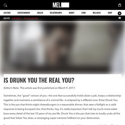 Drunk Personality and Behavior: Is This the Real You?