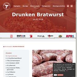 Drunken Bratwurst - Bratwurst Rezepte - Brühwurst Rezepte - selber wursten