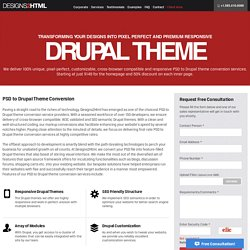 PSD to Drupal