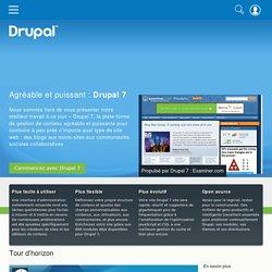 Drupal 7 - Plus facile et plus puissant que jamais