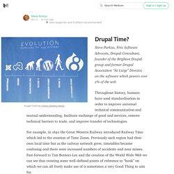 Drupal Time?