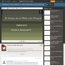 Drupal y la Web Semantica